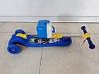 Трехколесный детский самокат Scooter. Складной. Оригинал 100%, фото 6