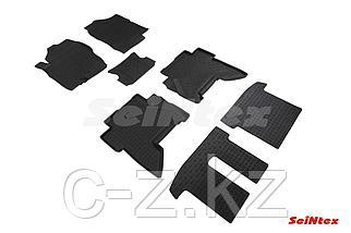 Резиновые коврики с высоким бортом для Nissan Pathfinder (R51) 2004-2014