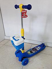 Трехколесный детский самокат Scooter. Складной. Оригинал 100%