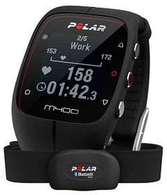 Водонепроницаемые часы POLAR M400 HR Black - хит продаж 2016