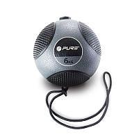 Медицинбол на веревке PURE2IMPROVE MEDICINE BALL WITH ROPE 6 кг