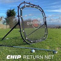 Сетка для гольфа с возвратом QUICKPLAY CHIP RETURN NET
