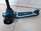 Музыкальный детский самокат Scooter. Трехколесный. Складной. Оригинал 100%, фото 6