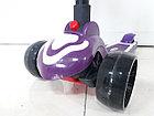 Музыкальный трехколесный самокат Scooter. Для детей. Складной. Оригинал 100%, фото 3