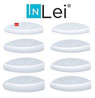 Валики для ламинирования ресниц 1 пара прозрачные INLEI