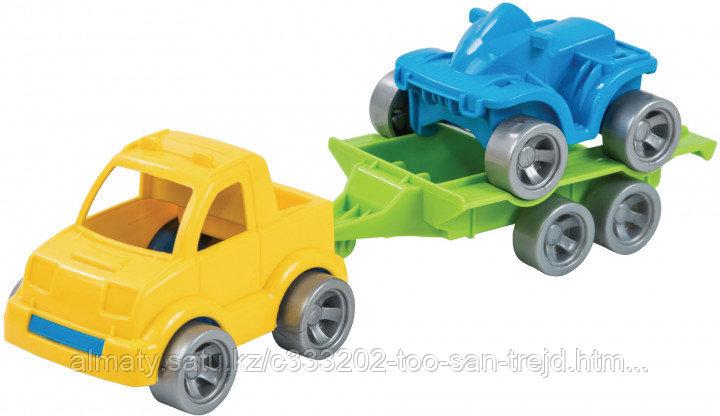 Набор авто Tigres Kid Cars Sport Пикап и Квадроцикл