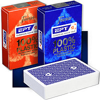 Игральные карты Fournier EPT European Poker Tour Blue / Red
