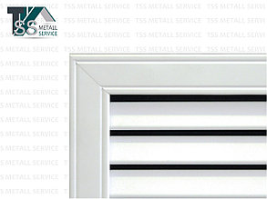 Радиаторная решетка 600х900 ПВХ белая