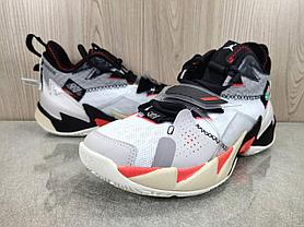 """Баскетбольные кроссовки Jordan Why Not Zero 3 (III) """"Red Insert"""" (36-46), фото 2"""