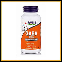Now Foods GABA 500мг 100капсул