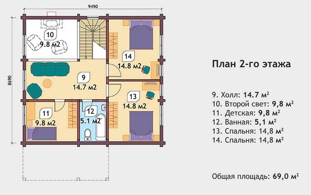 проекты деревянных домов, план двухэтажного дома и строительство под ключ, проектирование и строительство деревянных домов.