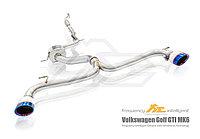 Выхлопная система Fi Exhaust на Volkswagen Golf GTi MK6