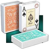Игральные карты Fournier 2818 Green/Orange