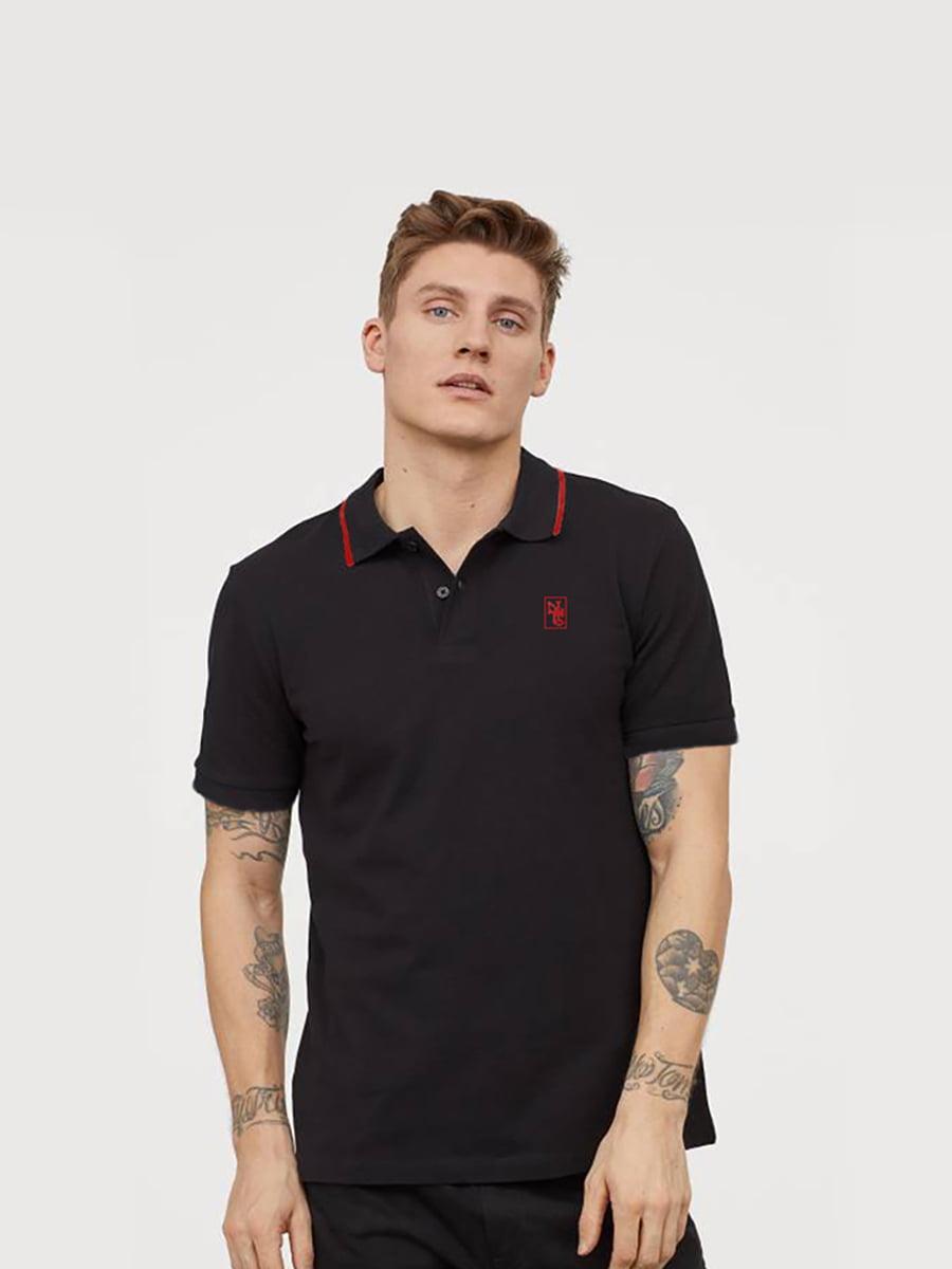 H&M Мужская футболка-поло - Е2
