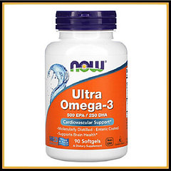 Now Foods Ultra Omega-3 90капсул