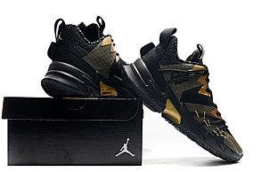 """Баскетбольные кроссовки Jordan Why Not Zero 3 (III) """"Black Gold"""" (36-46), фото 3"""