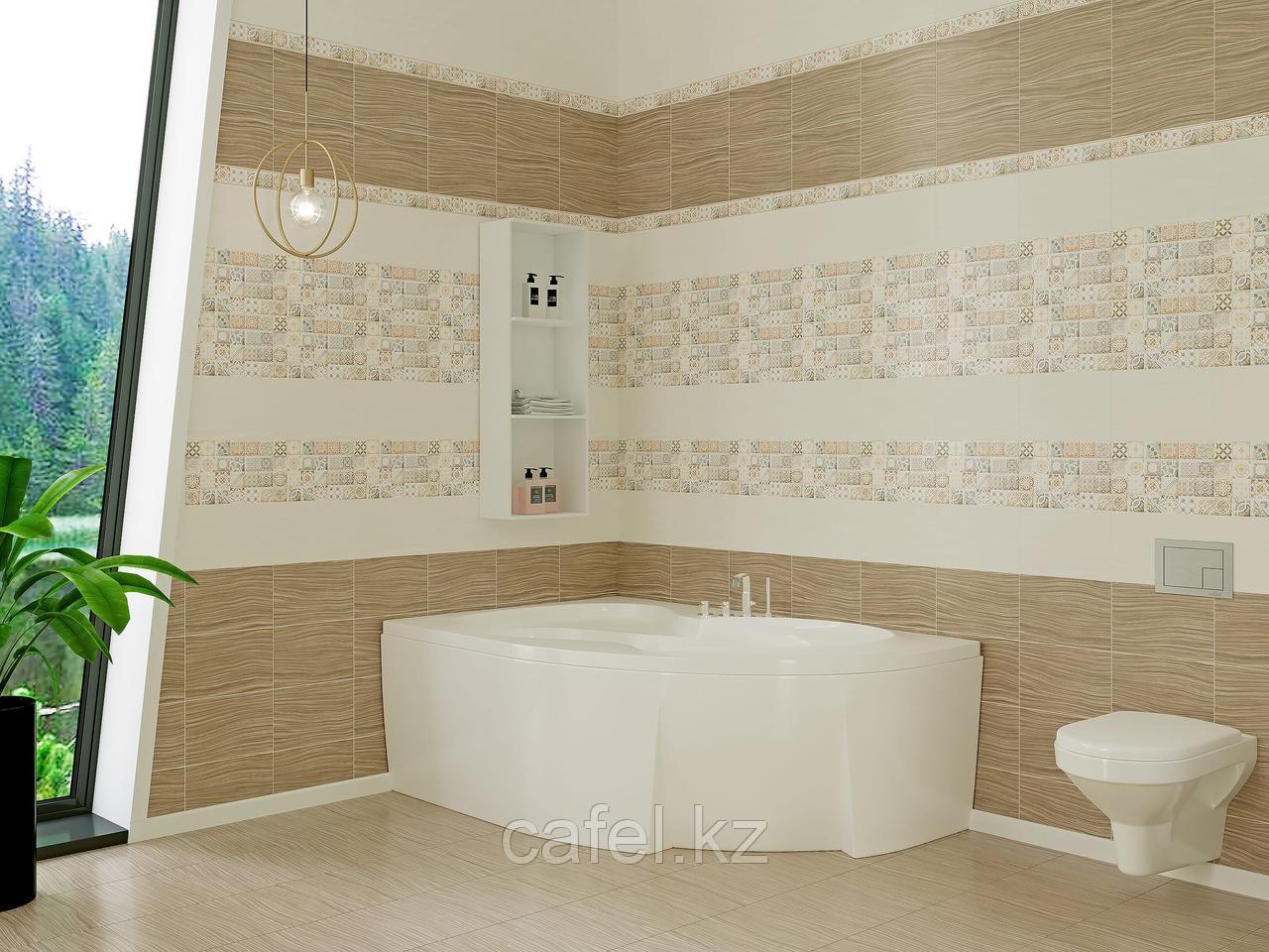 Кафель | Плитка настенная 20х30 Равенна | Ravenna коричневый