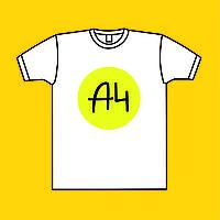 Детская футболка А4
