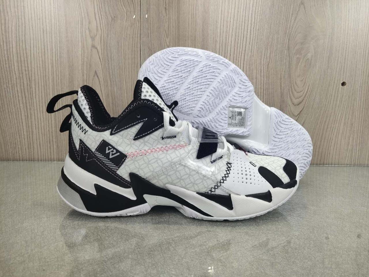 "Баскетбольные кроссовки Jordan Why Not Zero 3 (III) ""Black&White"" (36-46)"