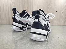 """Баскетбольные кроссовки Jordan Why Not Zero 3 (III) """"Black&White"""" (36-46), фото 2"""