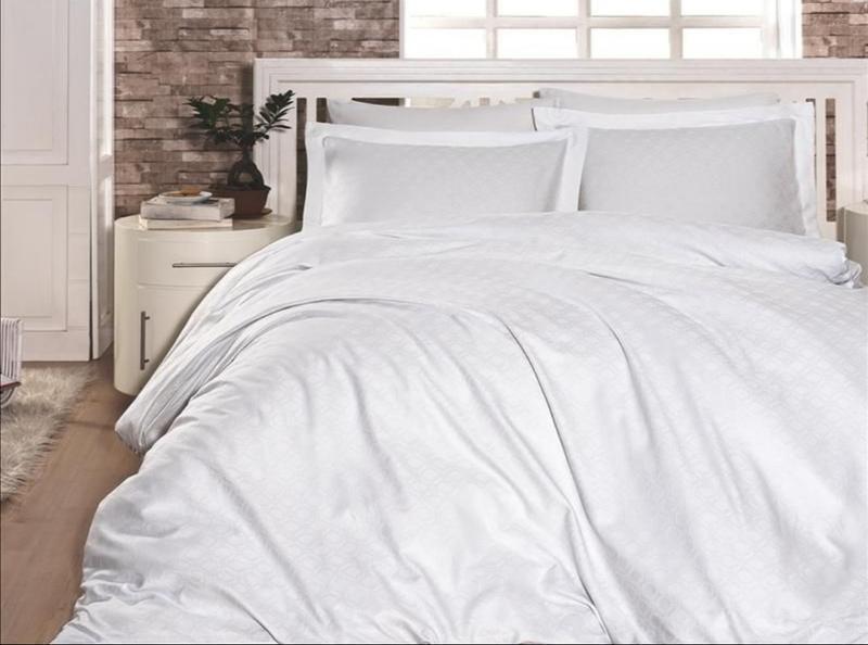 Простынь страйп-сатин 1,5 спальная Премиум 160x260 см
