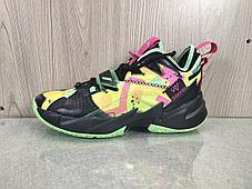 "Баскетбольные кроссовки Jordan Why Not Zero 3 (III) ""Neon"" (36-46), фото 2"