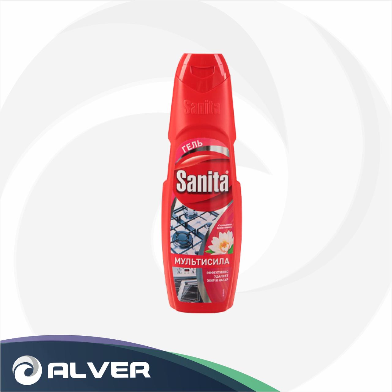 Антижир гель Sanita мультисила 500г (Красный)