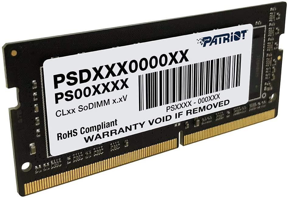 Оперативная память SODIMM DDR4 (2400 MHz)  8Gb PATRIOT V2