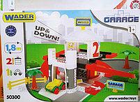 Игровой набор Wader  Гараж с лифтом 2 уровня, фото 2