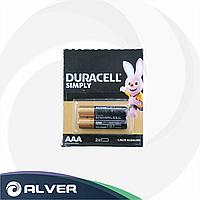 Батарейки DURACELL AAA 2шт (Мизинчиковые)