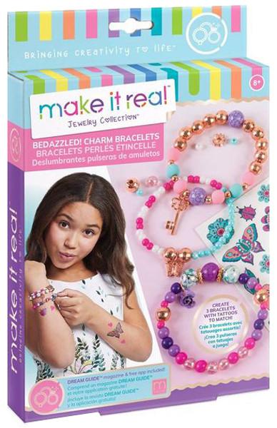 Make It Real Набор для создания Шарм-браслетов Цветочная фантазия