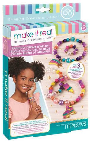 Make It Real Набор для создания Шарм-браслетов Цветная мечта