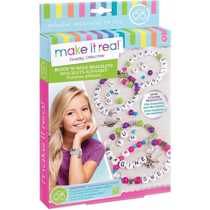Make It Real Набор для создания Шарм-браслетов Алфавит