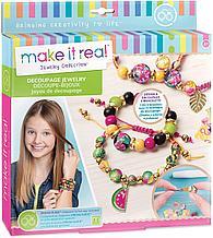 Make It Real Набор для создания Декупажно-бисерных браслетов