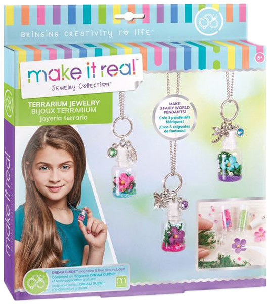 Make it Real Набор для создания волшебных кулонов Цветочный террариум