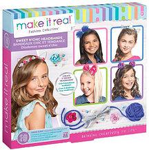 Make it Real Набор для создания эксклюзивных обручей для волос Сладкие мечты