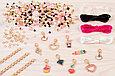 Make It Real Набор для создания Шарм-браслетов Juicy Couture Розовый звездопад, фото 4