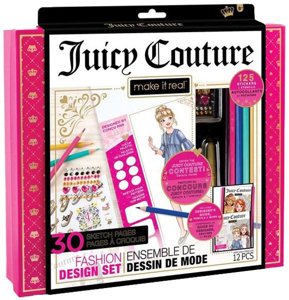 Make it Real Набор для создания модных дизайнов Juicy Couture Звезда моды