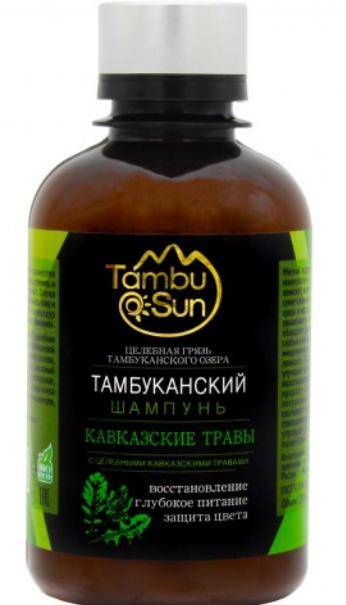 """Шампунь для волос Тамбуканский """"Кавказские травы"""", 200 мл."""