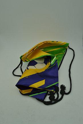 Сумка-мешок для обуви Brazil soccer, фото 2