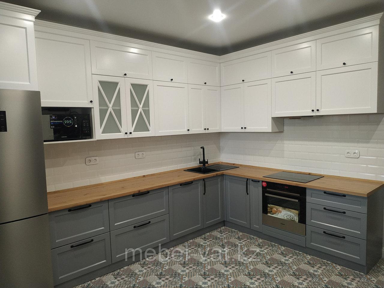 Кухонный гарнитур прованс-неоклассика