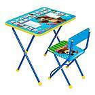 Набор мебели НИКА МАША И МЕДВЕДЬ (стол +мягкий моющийся стул)  Азбука 2