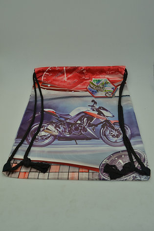 Сумка-мешок для обуви Motorbike, фото 2