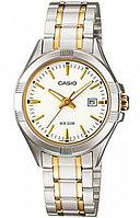 Женские часы CASIO LTP-1308SG-7AVDF Silver-Gold