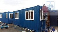 Модульное здание контейнерного типа 20ф, фото 1