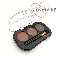 "ТЕНИ ДЛЯ БРОВЕЙ DODO GIRL ""EYEBROW POWDER"" 3 COLORS"