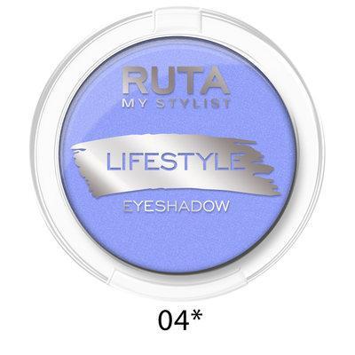 """RUTA Тени компактные """"LIFESTYLE""""оттенок:  04* светлый сапфир"""