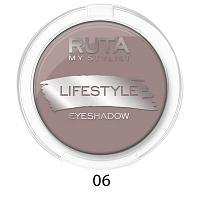 """RUTA Тени компактные """"LIFESTYLE""""оттенок:06 десертный тауп"""