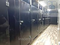 Утепленный контейнер под туалет из 40 футового контейнера, фото 1