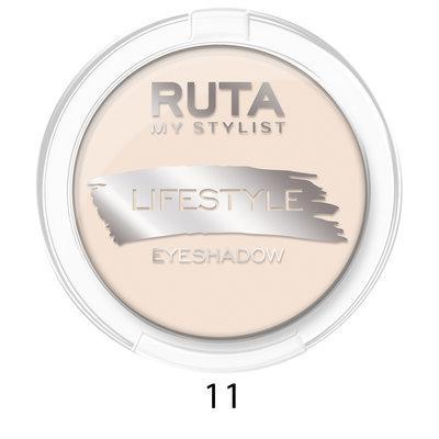 """RUTA Тени компактные """"LIFESTYLE""""оттенок: 11 воздушный крем"""